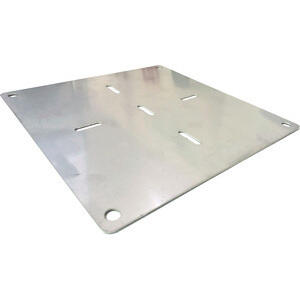 License plate base classic motorcycles stainless