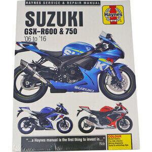 Manuale di officina per Suzuki GSX-R 600-750 '06-'16