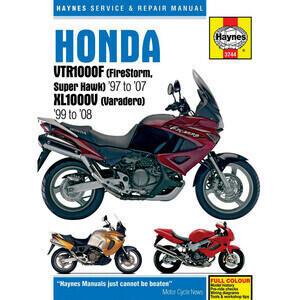 Manuale di officina per Honda VTR 1000 Fire Storm