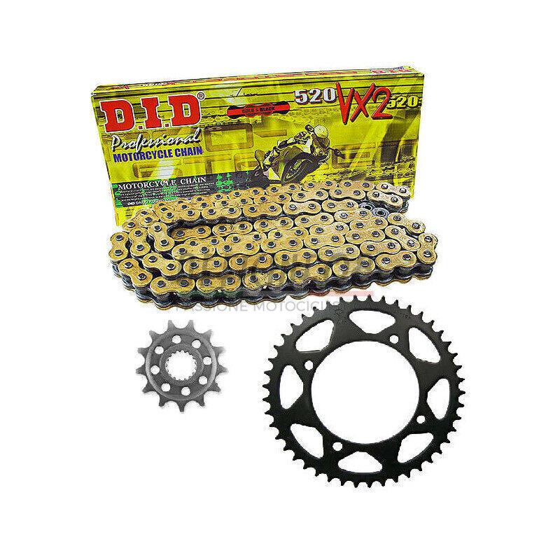 Kit catena, corona e pignone per Ducati Monster 900 i.e. '02 DID Premium