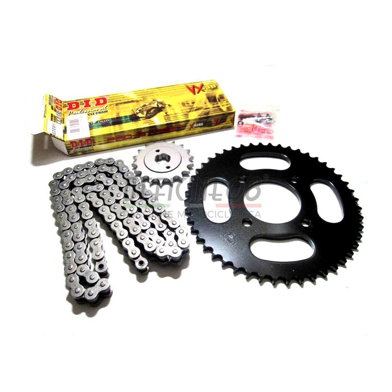 Kit catena, corona e pignone per Ducati Multistrada 1200 Enduro DID