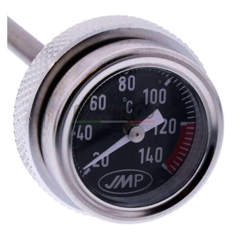 Termometro olio M27x3 lunghezza 7mm fondo nero