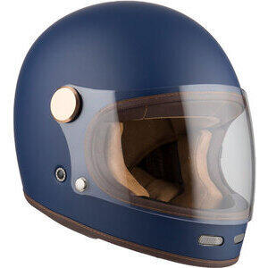 Casco moto integrale By City Roadster II blu