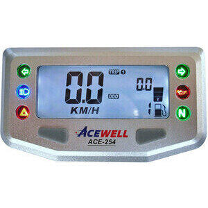 Contachilometri elettronico AceWell 254 grigio - Foto 3