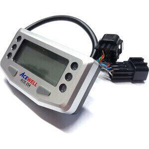 Contachilometri elettronico AceWell 254 grigio - Foto 2