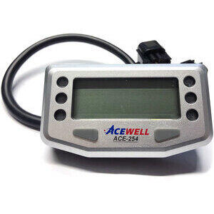 Contachilometri elettronico AceWell 254 grigio