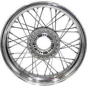 Complete spoke wheel 18''x3.50