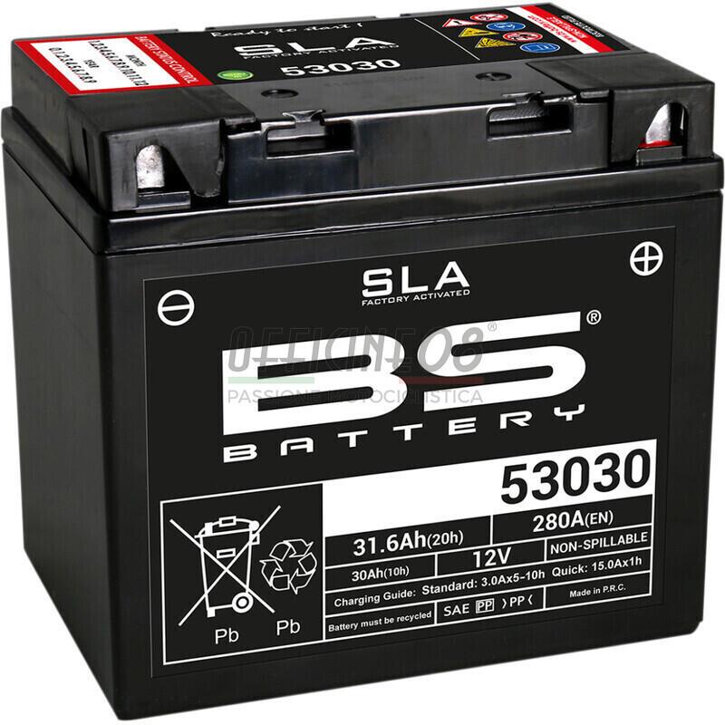 Batteria di accensione BS Battery BB5L-B SLA 12V-5Ah