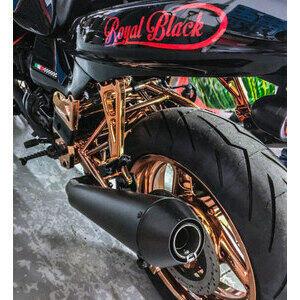Finale di scarico per Moto Guzzi V 11 Mistral conico nero coppia - Foto 2