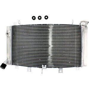 Radiatore motore per Suzuki GSX 1300 Hayabusa -'07 acqua grigio