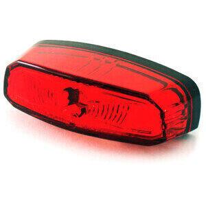Fanalino posteriore led Koso Oval rosso