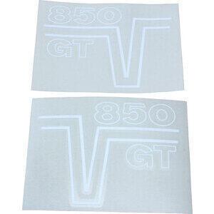 Adesivo per Moto Guzzi V 7 850 GT fianchetti coppia bianco