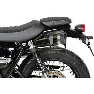 Telaietto borse moto per Triumph Scrambler '17- Shad Cafe sinistra