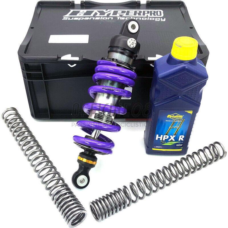 Kit upgrade sospensioni per Kawasaki KLX 650 C Hyperpro Streetbox
