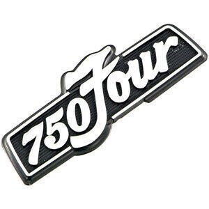 Emblema fianchetto per Honda CB 750 Four K '76 Replica originale