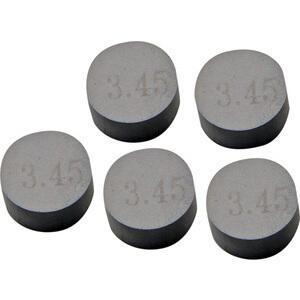 Spessore registro valvola diametro 7.5mm spessore 3.40mm set 5pz ProX