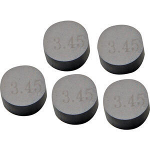 Spessore registro valvola diametro 9.5mm spessore 2.40mm set 5pz ProX