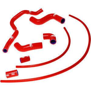 Tubo radiatore per Aprilia RSV4 1000 -'18 kit Samco rosso