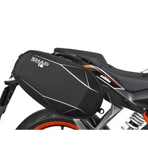 Telaietto borse moto per KTM Duke 390 -'16 Shad Top Master kit - Foto 2