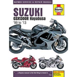 Manuale di officina per Suzuki GSX 1300 Hayabusa -'13