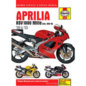 Manuale di officina per Aprilia RSV 1000