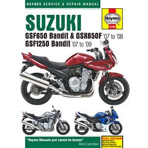 Manuale di officina per Suzuki GSF 1250 Bandit