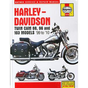 Manuale di officina per Harley-Davidson Twin Cam '99-'10