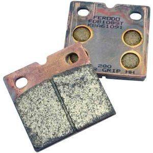 Coppia pasticche freno per Bimota SB 3 anteriore sinterizzate Ferodo