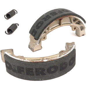 Brake shoes Moto Morini 3 1/2 GT '79- rear Ferodo