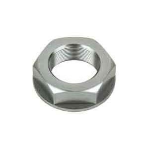 Dado canotto di sterzo M28x1 alluminio grigio