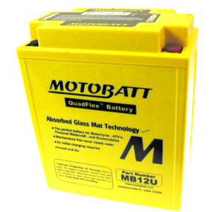 Motobatt sealed battery Honda CB 500 Four K1 12V-15Ah