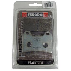 Coppia pasticche freno per Moto Morini 3 1/2 Sport anteriore organiche Ferodo