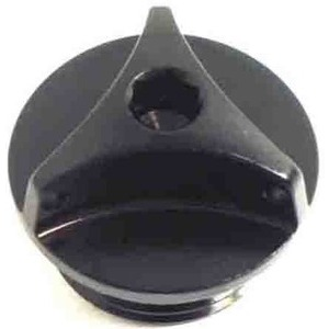 Bullone olio M20x2.5 alluminio nero