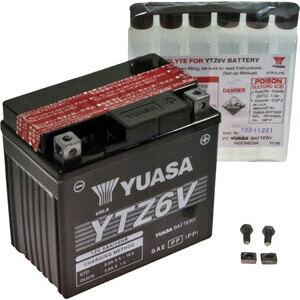 Batteria di accensione Yuasa YTZ6V 12V-5Ah