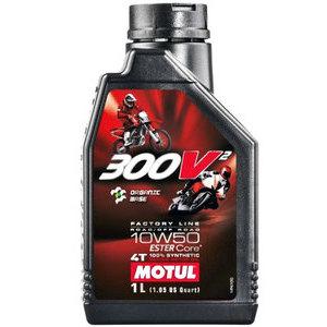 Engine oil 4T Motul 10W-50 300V Road Racing 1lt