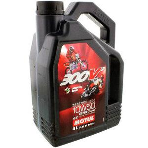 Olio motore 4T Motul 10W-50 300V Road Racing 4lt