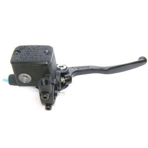 Pompa freno anteriore Brembo PS16 serbatoio integrato nera