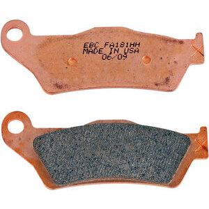 Coppia pasticche freno EBD Brakes FA181HH