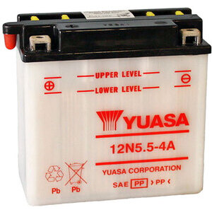 Batteria di accensione Yuasa 12N5.5-4A 12V-6Ah