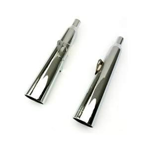 Exhaust muffler Moto Morini 3 1/2 Sport Marving Marvi chrome pair