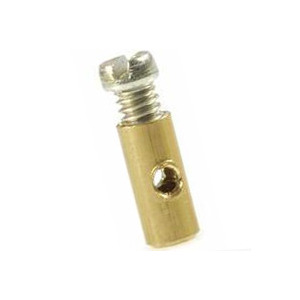 Cable nipple brass