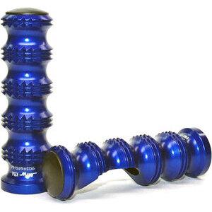Footpeg MFW Master Grip pair blue