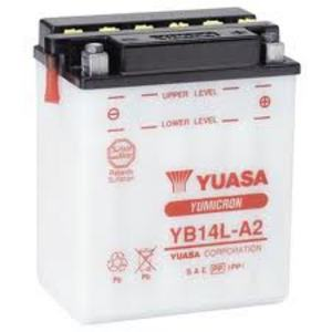 Batteria per Ducati 500 Pantah standard Yuasa 12V-14Ah