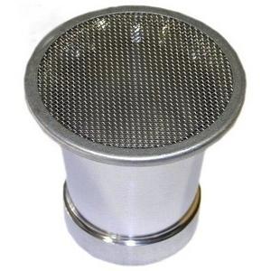 Cornetto aspirazione 48x70mm con rete piatta