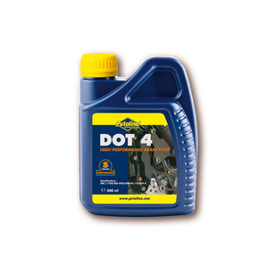 Brake & clutch fluid Putoline DOT 4 0.5lt