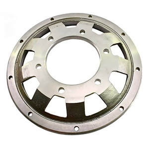 ABM brake disc spare contour flange offset 26.5mm grey