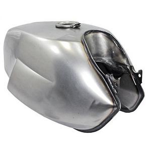 Serbatoio benzina per Moto Guzzi V 7 Sport Replica originale acciaio apertura anteriore