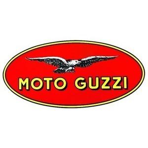 Adesivo Moto Guzzi 30x65mm