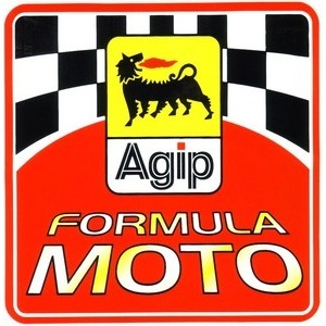 Sticker Agip Formula Moto 100x100mm
