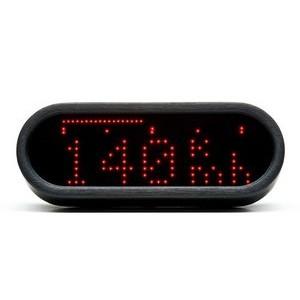 Electronic multifunction gauge Motogadget Motoscope Mini black